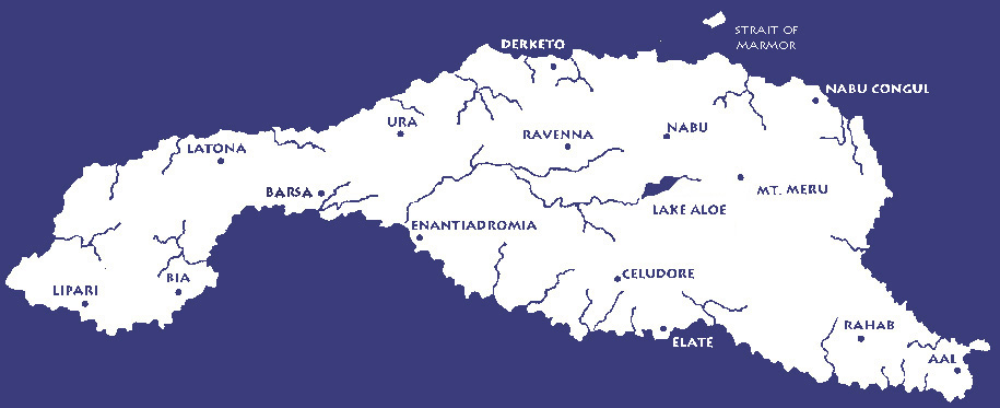 map of anaphoria