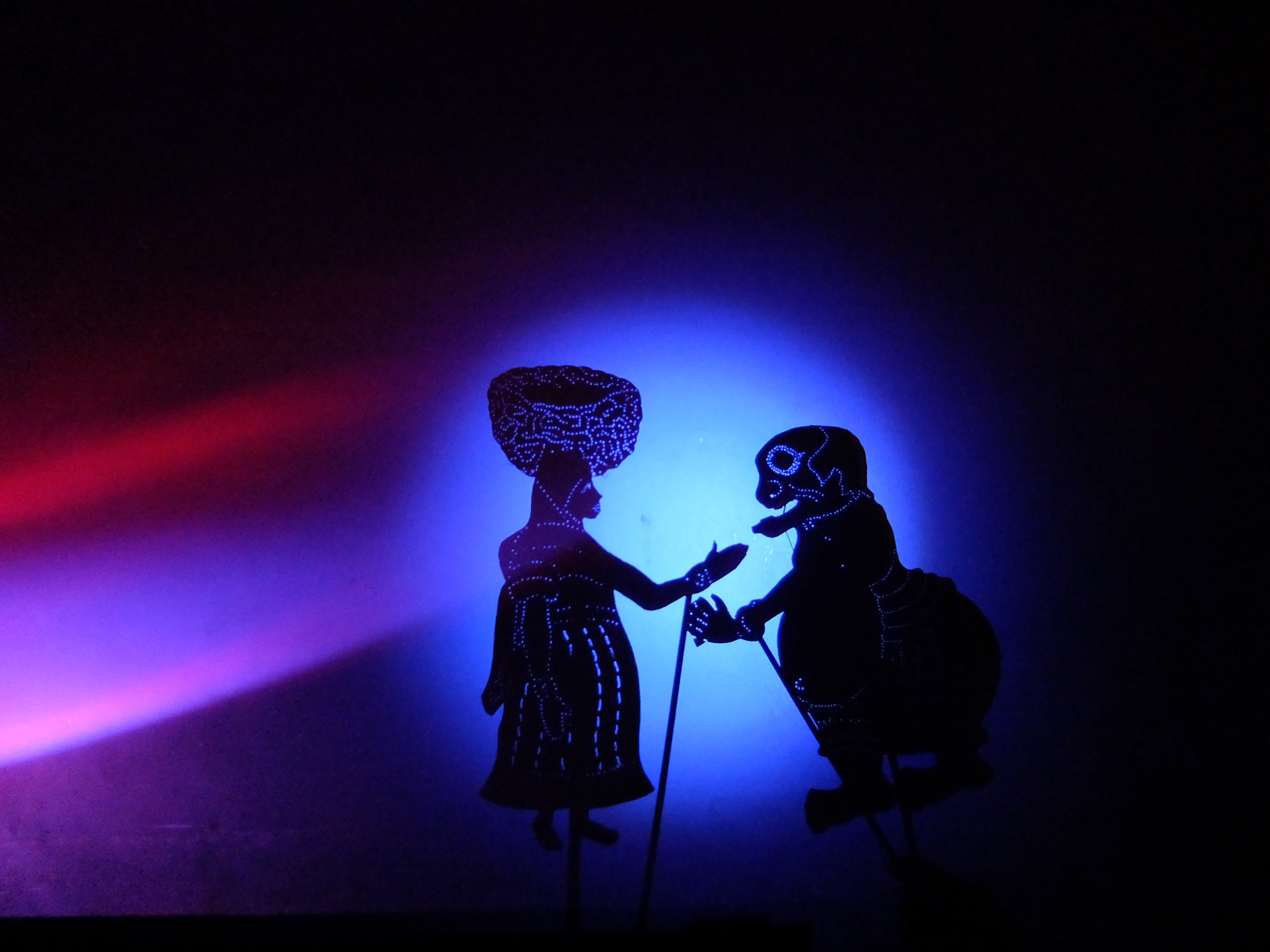 Founded in 1996, performances of our shadow theatre have included  presentations at The Norton Simon Museum of Art, The Pacific Asia Museum  (Los Angeles), ...